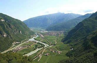 La Val d'Adige - panoramica